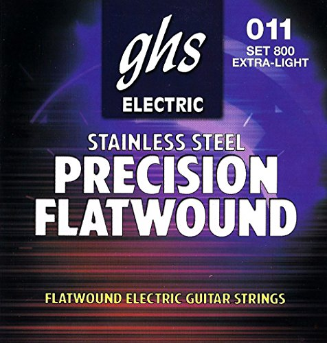 UPC 737681002411, GHS Precision Flats Electric Guitar Strings (11-46)