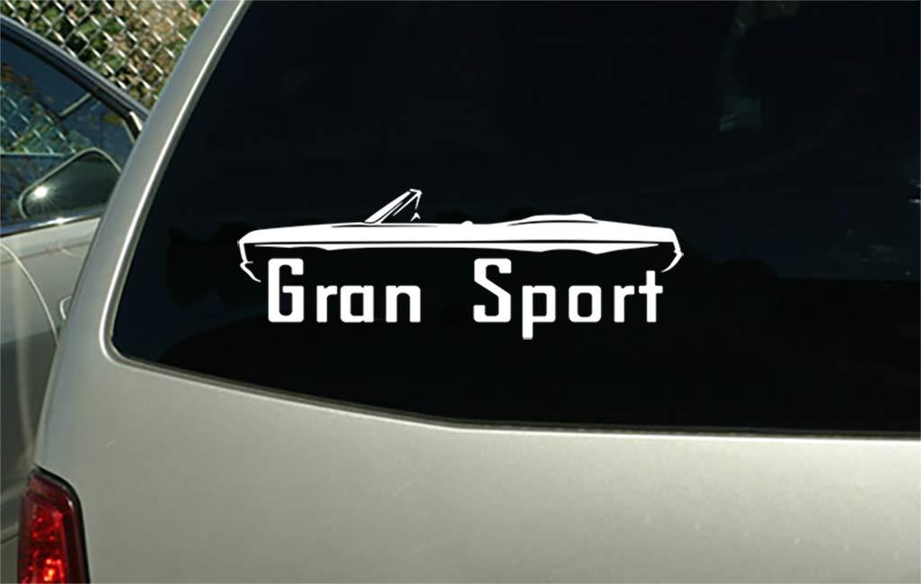 1966 Gran Sport Convertible vintage car decal sticker wall mural