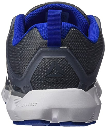 Reebok white vital Dust Run asteroid De Hexaffect Gris 5 pewter 0 Running Blue Homme Chaussures rArqw