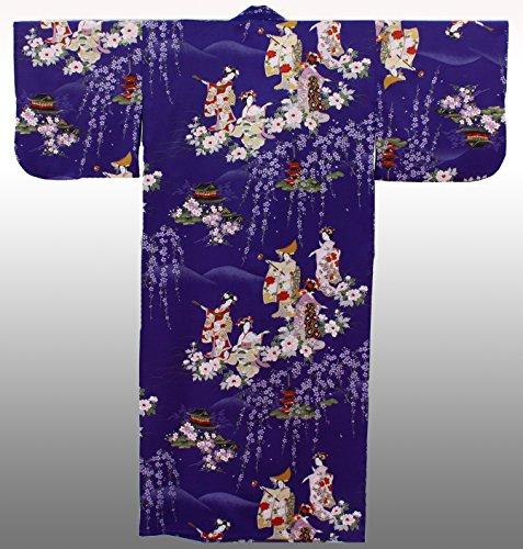 Kimono Designed Robe MAIKO Girl