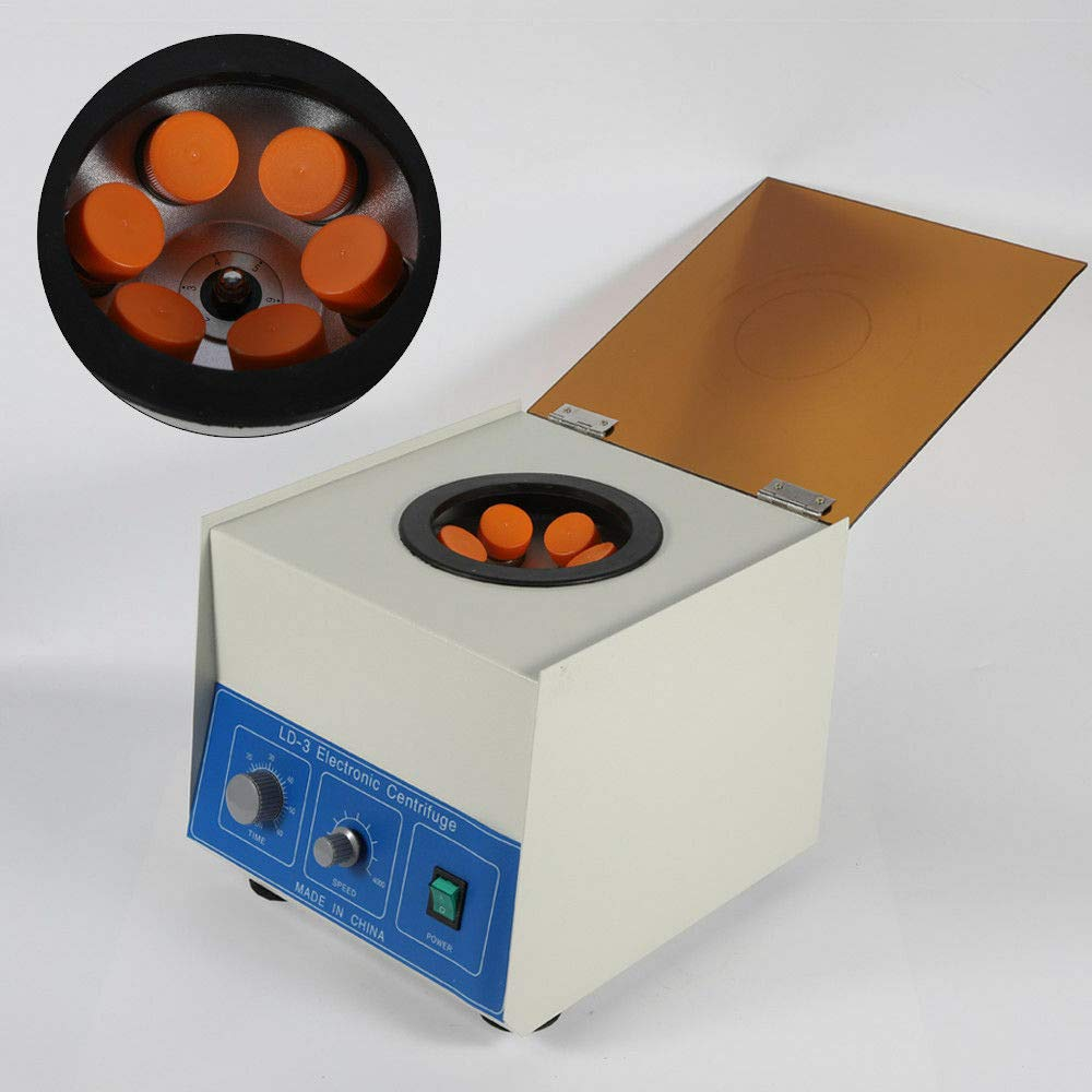 TFCFL 650ml 4000rpm 2770xg LD-3 Electric Bench top Laboratory Centrifuge Practice Low Noise by TFCFL