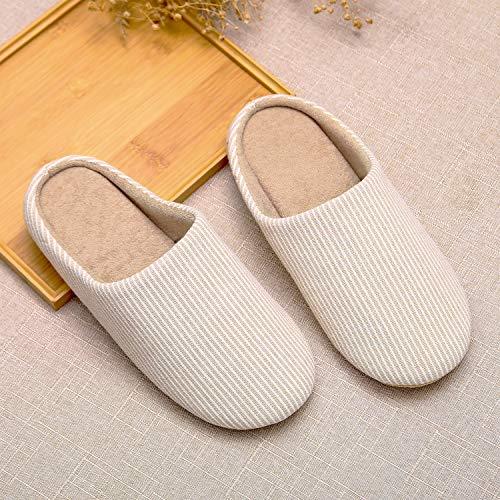 Inverno Home Scarpe Casa Pattini Beige Donna Autunno Saguaro Pantofole Cotone Uomini Per Unisex Peluche Caldo Morbido Nuovo 0nqwtHvFxI