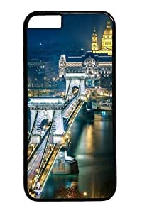 Szechenyi Chain Bridge Budapest Custom For SamSung Galaxy S6 Case Cover Polycarbonate Black