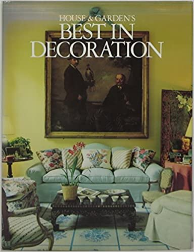 House And Garden S Best In Decorating House And Garden Editors 9780394564265 Amazon Com Books