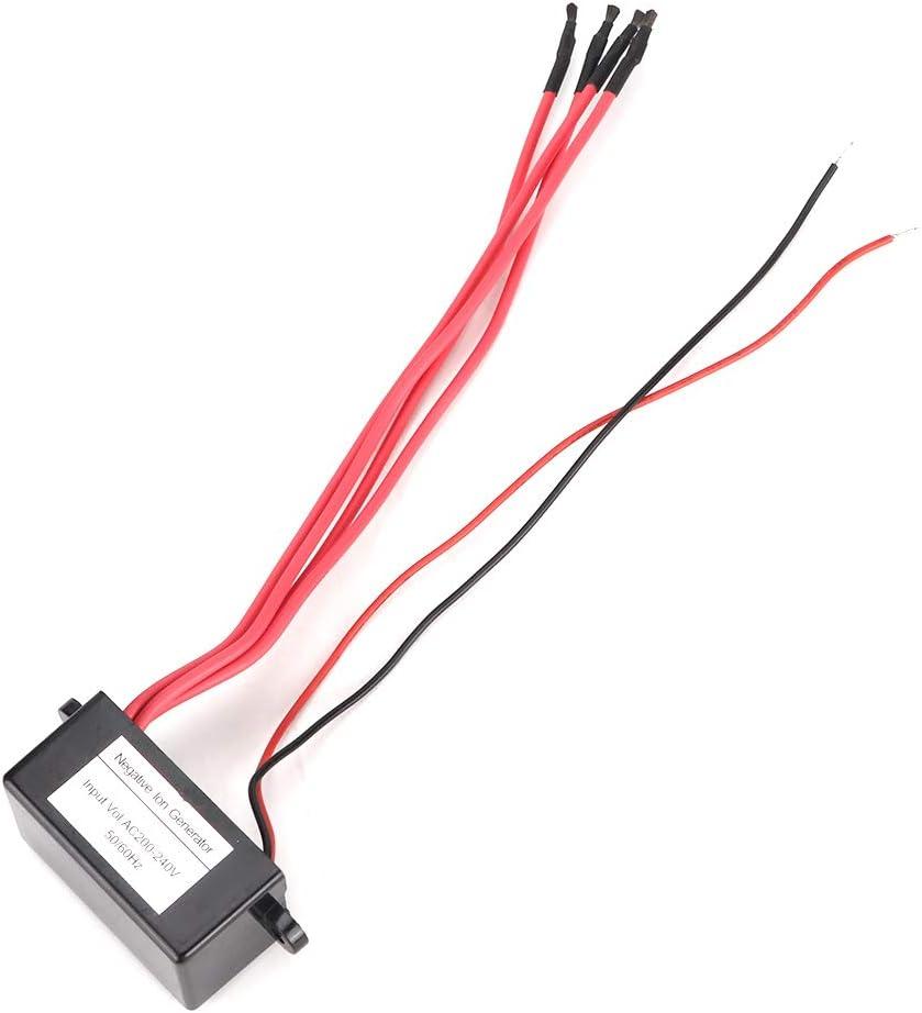 Ac200-240V SunshineFace Generador de Iones Negativos en El Hogar M/ódulo Ionizador Mini Purificador de Aire 4 L/íneas Negativas
