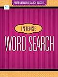 Intense Premium Word Search Puzzles (Premium Word Search Puzzles Se)