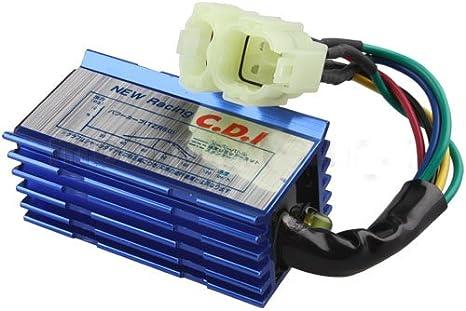 Amazon.com: X-PRO 6-Pin Performance CDI for GY6 50cc 70 cc 90cc ... mercury outboard tachometer wiring diagram Amazon.com