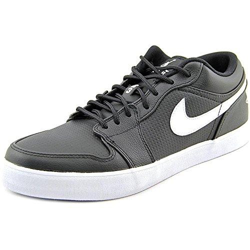 Nike Men's AJ V.2 LOW LTR CASUAL SHOES 9.5 Men US (BLACK/WHITE/BLACK)