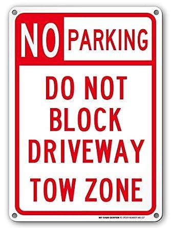 Sin aparcamiento No bloquear la entrada remolque zona ...