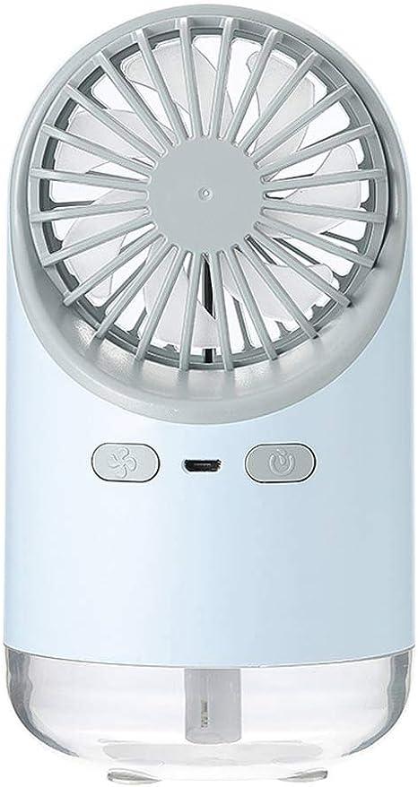 HJL Mini Ventilador, USB portátil de Escritorio Aerosol Aire ...