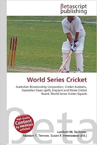 cc5144c7e World Series Cricket  Australian Broadcasting Corporation