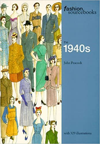 1940s Fashion Books | 1940s Fashion History Research Fashion Sourcebooks the 1940s  AT vintagedancer.com