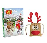 jelly belly free shipping - The Yummy Palette Jelly Belly Advent Calendar 240g | British Christmas Candy Chocolate UK English Sweets | British Christmas Shop | Imported from UK | Handmade Basically British Reindeer Bag