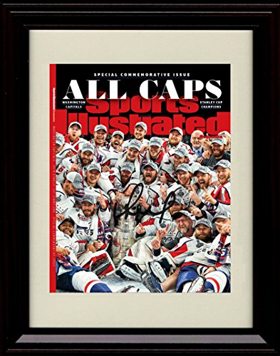 Framed Washington Capitals Sports Illustrated Autograph Replica Print - Stanley Cup Champs!
