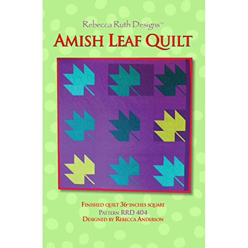 Amish Leaf Quilt Sewing Pattern ()