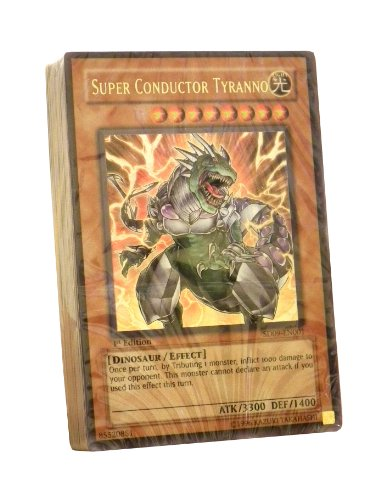 Yu-Gi-Oh English Trading Card Game - Dinosaur's Rage Starter Deck (No Box) (4...