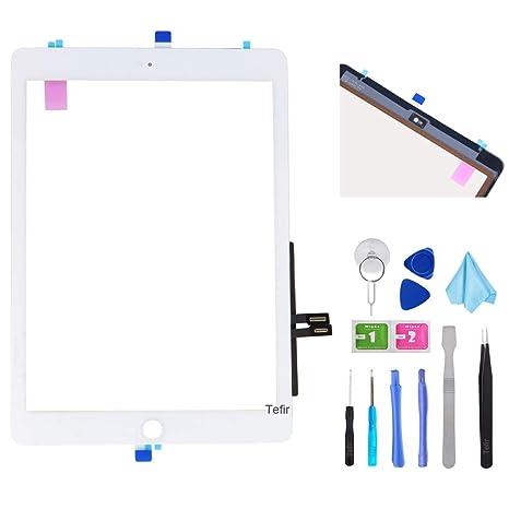 A1954 Display Touch Glas Scheibe Digitizer Reparatur Weiß St 24 iPad 6 A1893