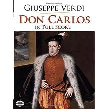 Don Carlos in Full Score