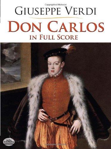 Don Carlos  Full Score   Partitur  Dover Music Scores