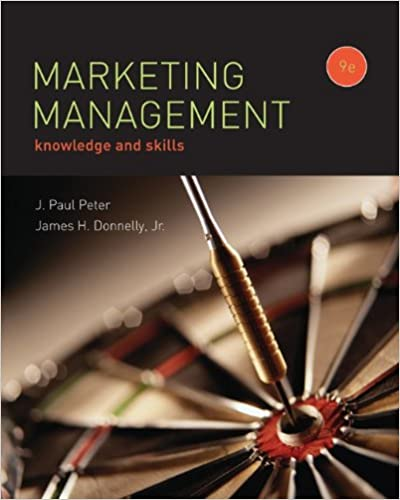 MARKETING MANAGEMENT J Paul Peter
