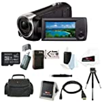 Sony HDR CX405 B 9 2MP Video Recording Camcorder with 29 8mm Wide Angle Carl Zeiss Zoom Lens Black