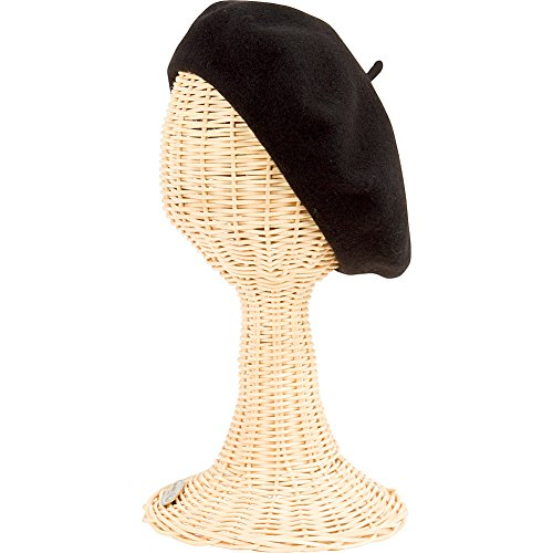 San Diego Hat Company Women's Felt Beret O/S BLACK