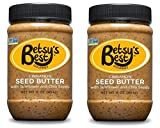 Gourmet Cinnamon Sunflower Seed Butter w/Chia Seeds by Betsy's Best 16 OZ – FREE RECIPE E-BOOK – All Natural and GMO Free (Cinnamon, 2 Jars) Review