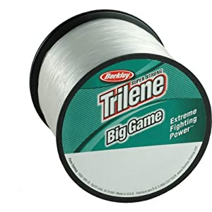 Berkley trilene big game monofilament 1 pound for Where to buy fishing line