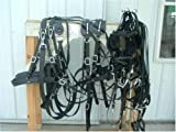 Amish Made Biothane Draft Horse Team Harness