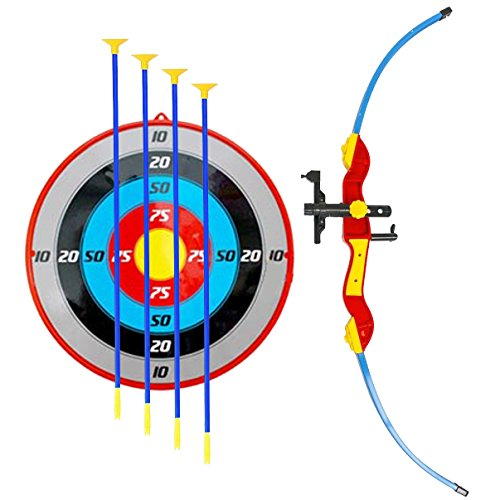 Liberty Imports Sport Toy Archery Bow and Arrow Set for Kids with Suction Cup Arrows and -