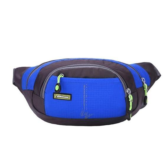 25071b3ea107 Bluester Men Women Running Bum Bag Travel Handy Hiking Sport Fanny Pack  Waist Belt Zip Pouch