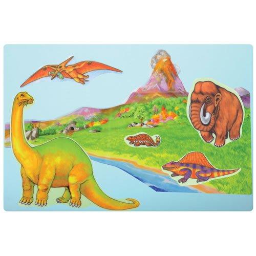 Little Folk Visuals Dinosaurs Precut Flannel//Felt Board Figures 12 Pieces Set SG/_B0006V56FM/_US