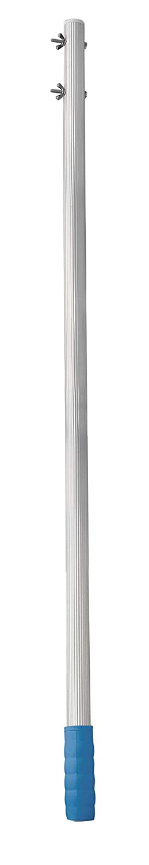 SIQUA P/értiga Fija de Aluminio Estriado con Sistema Tornillo y Palomilla Longitud de 2 m