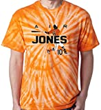 "The Silo TIE DIE ORANGE Adam Jones Baltimore ""AIR HR"" T-Shirt"