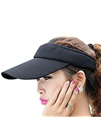 Fasbys Summer Outdoor Sports Beathable Long Brim Empty Top Baseball Sun Cap Hat Visor