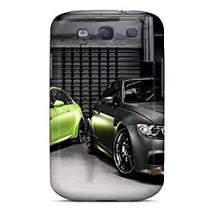 Galaxy S3 Cover Case - Eco-friendly Packaging(black And Green Bmw)
