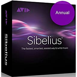 Sibelius 8 Annual Subscription (Download Card)