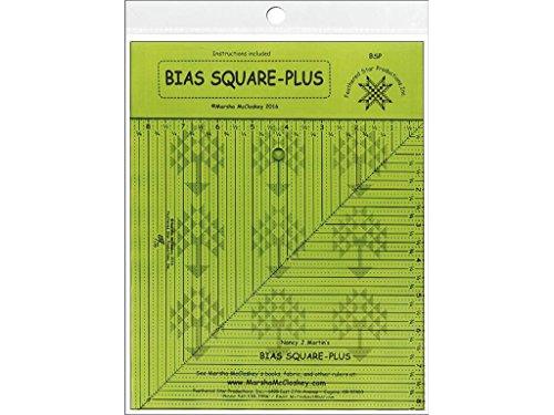 Plus Ruler (Feathered Star FSPBSP Ruler Bias Square-Plus)