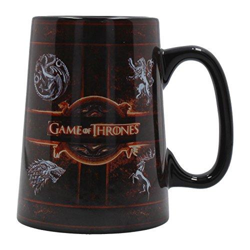 Ceramic Tankard - Official Licensed Game of Thrones Rustic Sigil Ceramic Tankard Mug