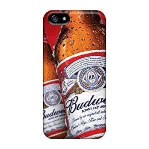 Budweiser Beer Case Compatible With Iphone 5/5s/ Hot Protection Case