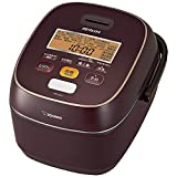 "ZOJIRUSHI Pressure IH Rice Cooker (1.0L) ""極め炊き (Kiwame Daki)"" NW-JS10-VD (Bordeaux)【Japan Domestic genuine products】 For Sale"
