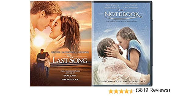 com the notebook the last song r ce movie dvd set  com the notebook the last song r ce movie dvd set double love twice as much james garner rachel mcadams gena rowlands ryan gosling