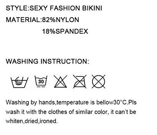 Tamaño grande negro Blue Stripe bikini cuerpo esculpiendo spa traje de baño Negro