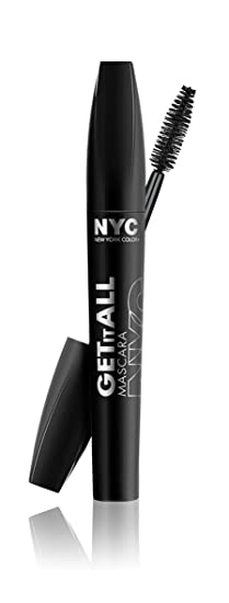 Amazon.com : N.Y.C. New York Color Get It All Mascara, Extreme Black, 0.24 Ounce : Beauty