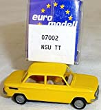 NSU TT PKW amarillo IMU/EUROMODELL 07002 H0 1/87 OVP #LL 1 ? /ITEM#G839GJ UY-W8EHF3145799