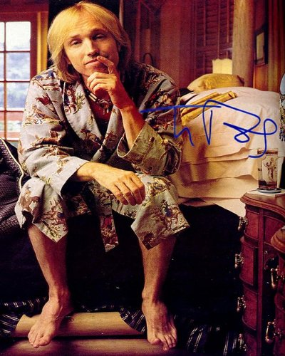 Tom Petty Autographed Preprint Signed 11x14 Poster Photo