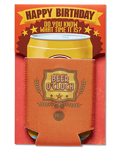 American Greetings Beer O' Clock Birthday Greeting Card with Music