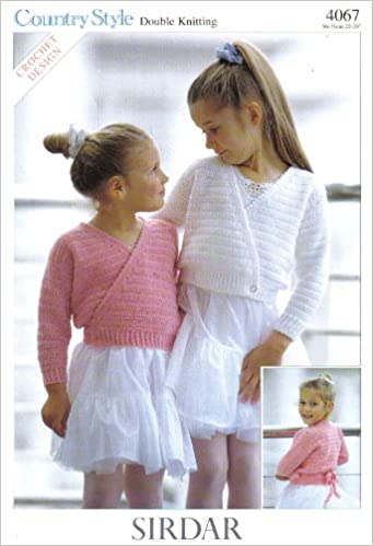 Sirdar Childrens Ballet Top And Cardigan Or Dance Top And Cardigan