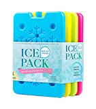 Blue Ele Slim Ice Pack for Lunch Box & Cooler, Reusable Freezer Pack