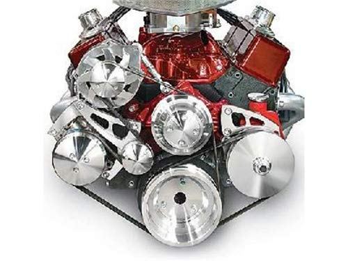 March Performance 22072 LWP Serpentine Conversion Kit for Small Block Chevy Engine by MARCH (Image #1)